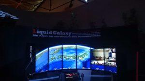 Liquid Galaxy 稼働開始