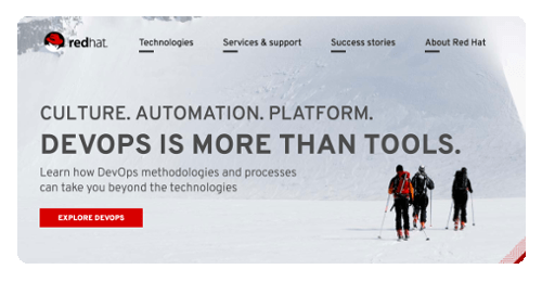 Red Hat : A Starter of Open Source Software Technology + Service + Business